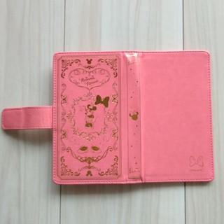 Disney - ミニー☆スマホケース☆鏡・カード入れ付き