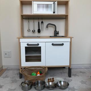 イケア(IKEA)のIKEA おままごと キッチン(知育玩具)