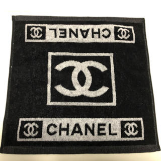 シャネル(CHANEL)の在庫処分 早い者勝ち CHANEL シャネル ノベルティ  ハンドタオル(ハンカチ)
