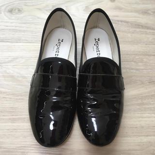 レペット(repetto)のレペット repetto MICHAEL (ブラックエナメル)36サイズ(ローファー/革靴)
