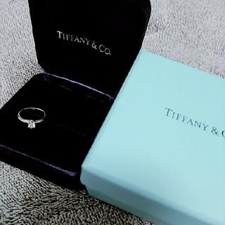 ティファニー(Tiffany & Co.)のティファニー ダイヤリング0.23ct 美品 ダイヤ 指輪(リング(指輪))