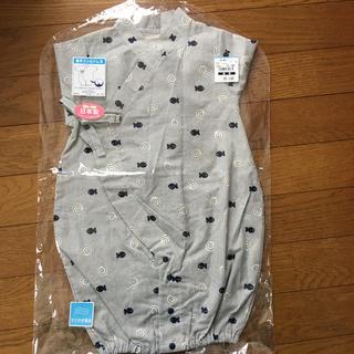 ニシマツヤ(西松屋)の50-60cm 甚平ロンパース 新品未使用☆(ロンパース)