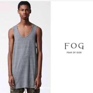 FEAR OF GOD - ロング丈タンクトップ レイヤード fog