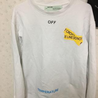 オフホワイト(OFF-WHITE)のOff-White トレーナー(スウェット)