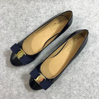 Salvatore Ferragamo - サルヴァトーレフェラガモ 靴/シューズ ハイヒール 37