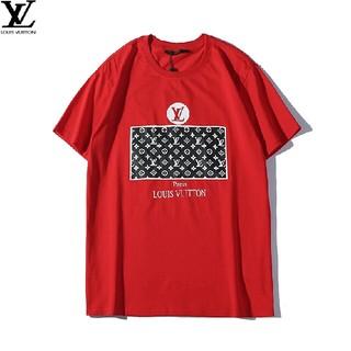 ルイヴィトン(LOUIS VUITTON)のLOUIS VUITTON 夏 メンズ  半袖 Tシャツ 丸首シンプル 送料無料(Tシャツ/カットソー(半袖/袖なし))