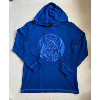 ディーゼル(DIESEL)のDIESEL ボーイズ 長袖パーカーTシャツ  XL/16(Tシャツ/カットソー)