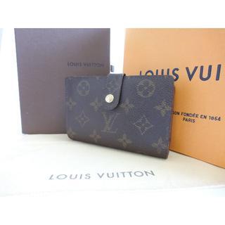 ルイヴィトン(LOUIS VUITTON)の美品☆ヴィトン モノグラム 【がま口財布】短財布☆本物☆E16(折り財布)