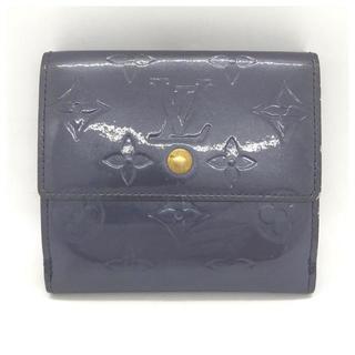 ルイヴィトン(LOUIS VUITTON)の❤️セール❤️ ルイヴィトン ポルトピエ 二つ折り 財布 パープル ヴェルニ(折り財布)