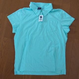 ギャップ(GAP)のさち様専用☆GAP ミントブルー  半袖ポロシャツ L 新品未使用(ポロシャツ)
