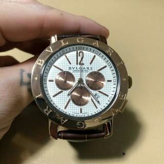 ブルガリ(BVLGARI)のブルガリ 時計 ゴールド クロノグラフ (腕時計)