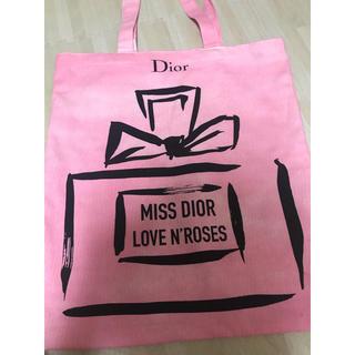 ディオール(Dior)のMiss Dior 展覧会 ノベルティ 限定 トートバッグ(トートバッグ)