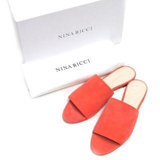 ニナリッチ(NINA RICCI)の新品 NINA RICHI スエード サンダル 定価65,880円 size36(サンダル)