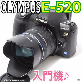 OLYMPUS - ✨一眼レフ初心者に最適✨オリンパス OLYMPUS E-520