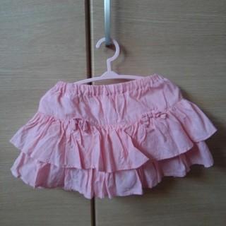 クミキョク(kumikyoku(組曲))のスカート(パンツ付) 80(スカート)