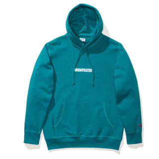 UNDEFEATED - [ほぼ新品]UNDEFEATED LOGO PULLOVER HOODIE
