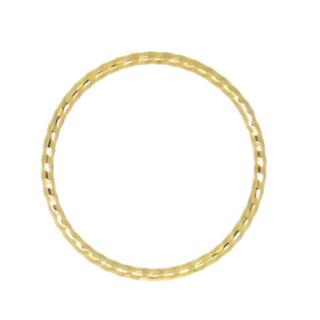 とても華奢なピンキーリング  k10  3号(リング(指輪))