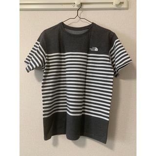 ザノースフェイス(THE NORTH FACE)のザノースフェイス ボーダーTシャツ(Tシャツ/カットソー(半袖/袖なし))