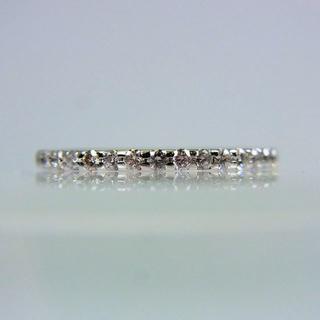 ヨンドシー(4℃)の4℃ Pt950 ダイヤモンド リング 6号[f8-29](リング(指輪))