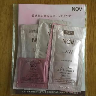 ノブ(NOV)のNOV ノブ サンプル6点セット(サンプル/トライアルキット)