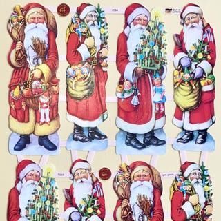 ドイツ製 ペーパークラフト ♡ クリスマス サンタ v5(印刷物)