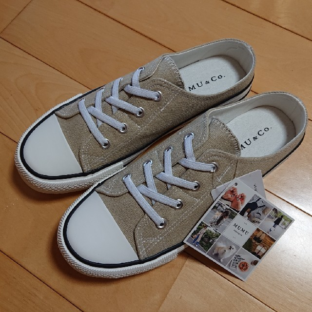 しまむら(シマムラ)のしまむら×MUMU  スニーカー レディースの靴/シューズ(スニーカー)の商品写真