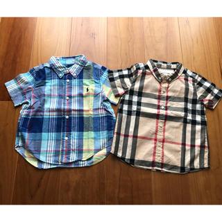 BURBERRY - Burberry &ラルフローレン 半袖シャツ 2枚セット