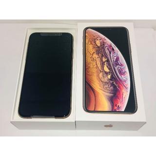iPhone - 新品未使用 au iPhoneXS 256GB ゴールド スマホ本体 送料無料