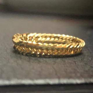 18金 リング メンズ(リング(指輪))