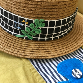 プチジャム(Petit jam)の最終価格!プチジャム  麦わら帽子50②(帽子)