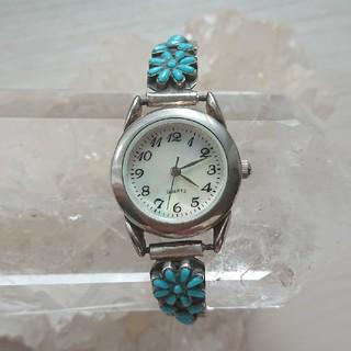 MALAIKA - ◆ターコイズジュエリー腕時計◆インディアンジュエリー スターリングシルバー