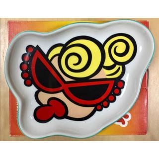 ヒステリックミニ(HYSTERIC MINI)のヒスミニ☆正規品☆新品☆大皿☆グリーン☆ダイカット☆食器☆お皿(食器)