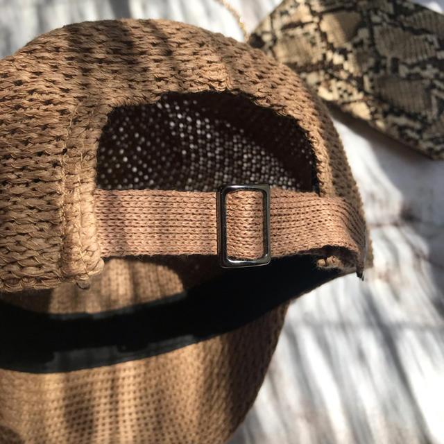 Ungrid(アングリッド)のラフィアキャップ  レディースの帽子(キャップ)の商品写真