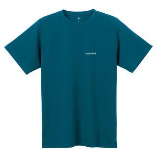 モンベル(mont bell)のモンベル Tシャツ WIC.T ワンポイントロゴ 1114110 DKMA L(Tシャツ/カットソー(半袖/袖なし))