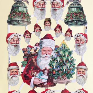 ドイツ製 ペーパークラフト ♡ クリスマス サンタ v11(印刷物)