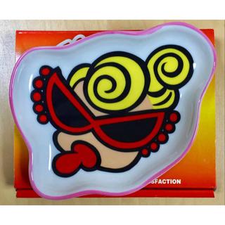 ヒステリックミニ(HYSTERIC MINI)のヒスミニ☆正規品☆新品☆お皿☆ダイカット☆陶器製☆食器☆ピンク(食器)