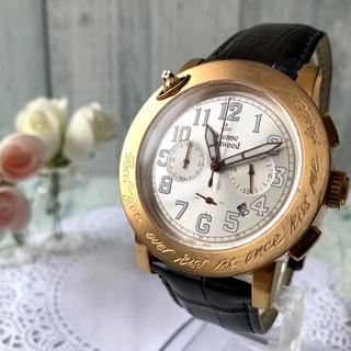 ヴィヴィアンウエストウッド(Vivienne Westwood)の【動作OK】 ヴィヴィアン  腕時計  kiss me once ピンクゴールド(腕時計(アナログ))