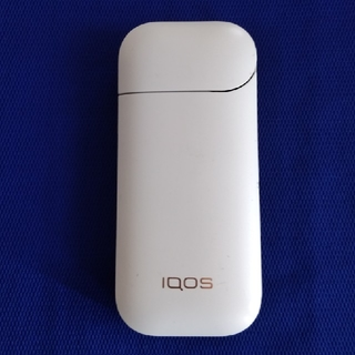アイコス(IQOS)のアイコスチャージャー旧型ホワイト中古品 no3(タバコグッズ)