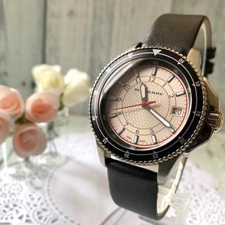 バーバリー(BURBERRY)の【美品】BURBERRY バーバリー BU7609 腕時計 デイト(腕時計(アナログ))
