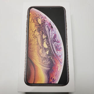 iPhone - iPhone xs 256GB ゴールド SIMフリー