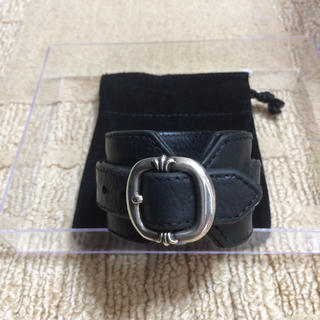 Chrome Hearts - CHROME HEARTS R&R TINY BUCKLE R&R ブレスレット