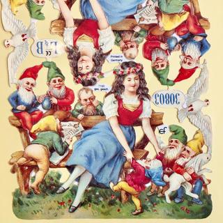 ドイツ製 ペーパークラフト ♡ 白雪姫(印刷物)