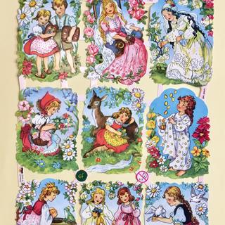 ドイツ製 ペーパークラフト ♡ 世界の童話 v1(印刷物)