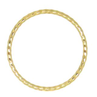とても華奢なピンキーリング k10  5号(リング(指輪))