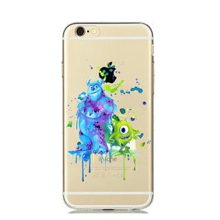 Disney - iPhone ケース ♡ 水彩 モンスターズインク