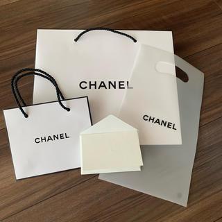 シャネル(CHANEL)のCHANELシャネル ショップバッグ セット(ショップ袋)