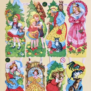 ドイツ製 ペーパークラフト ♡ 世界の童話 v2(印刷物)