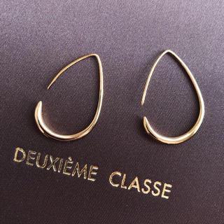 H.P.FRANCE - ★新品 限定価格! ドゥーズィエムクラス 18kgf ゴールド 曲線美ピアス