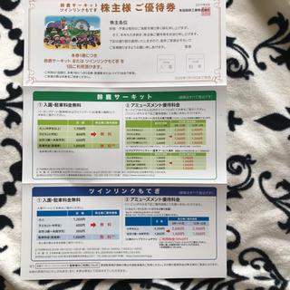 ホンダ 鈴鹿サーキット ツインリンクもてぎ 駐車場無料 優待 5名 入場