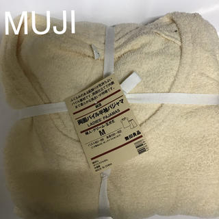 ムジルシリョウヒン(MUJI (無印良品))の新品未使用MUJI両面パイル五部袖パジャマ(パジャマ)